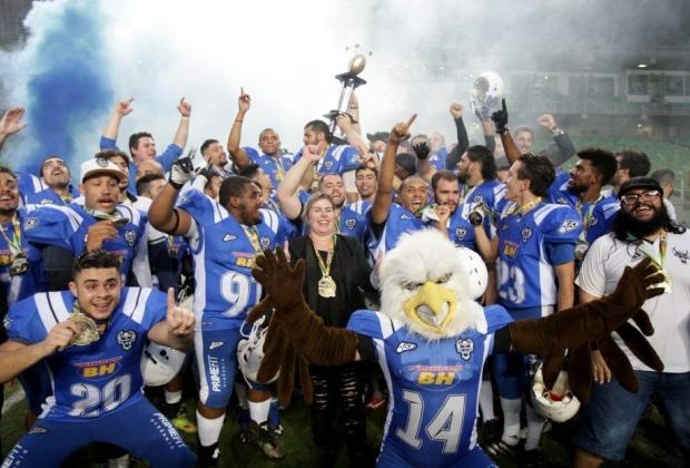 14bec240ab2e6 Sada Cruzeiro Futebol Americano é a nova força da modalidade em MG ...