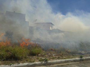 Donos de lotes com queimadas estão sendo notificados em Lavras