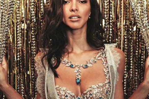 Modelo brasileira é escolhida para usar sutiã de 2 milhões de dólares em desfile da Victoria's Secret