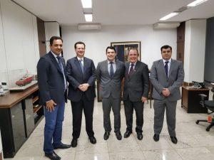 [Informe Parlamentar] Fábio Cherem vai a Brasília em busca de recursos para o Parque Tecnológico da UFLA