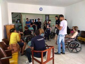 Núcleo de Eficiência Energética realiza entrega de doações à Casa do Vovô