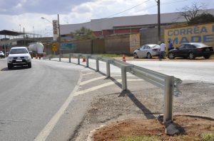 Alteração no trevo do Distrito Industrial diminuiu o número de acidentes, segundo a prefeitura