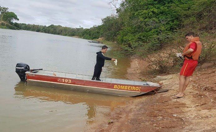 Bombeiros procuram por pescador desaparecido em rio de Itutinga | Lavras.TV